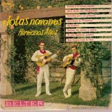 Discos de vinilo: DISCOS VINILO EP 50953 JOTAS NAVARRAS HERMANOS ANOZ - VAMOS A LA CAMA MOZOS ED BELTER. Lote 26921770