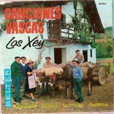 Discos de vinilo: DISCO VINILO EP 50964 CANCIONES VASCAS LOS XEY ATOR,ATOR MUTIL-GOXO,GOXO-TXANTNANGORIYA ED BELTER. Lote 26921771