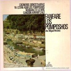 Discos de vinilo: DISCO VINILO EP SCGE 81403 FANFARE LOS POMPOSHOS - COCINEROS DONOSTIARRAS ED COLUMBIA. Lote 26921774
