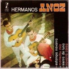 Discos de vinilo: DISCO VINILO EP Z-E 520 HERMANOS ANOZ - ESTAMPA NAVARRA - SIERRA DE LUNA ED ZAFIRO. Lote 26921777
