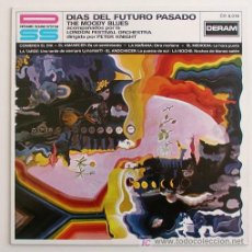 Discos de vinilo: THE MOODY BLUES ··· DAYS OF FUTURE PASSED - (LP 33 RPM). Lote 22865675