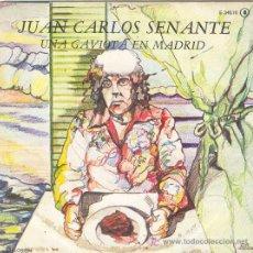 Discos de vinilo: UXV JUAN CARLOS SENANTE SINGLE PROMOCIONAL CANTAUTOR CANARIO SALSA MMUSICA LATINA . Lote 22204890