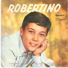 Discos de vinilo: ROBERTINO - O SOLE MIO **** DICOPHON **** EP 1960. Lote 12304745