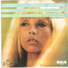 Discos de vinilo: SILVIE VARTAN - EL RITMO DE LA LLUEVIA *** RCA VICTOR ESPAÑA , RARA REEDICION DE 1984 EXCEPCIONAL. Lote 12304747