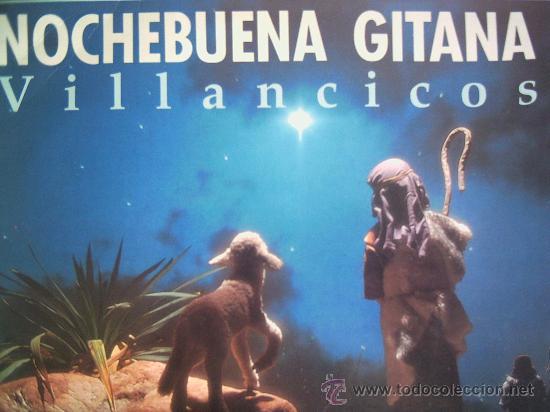 NOCHEBUENA GITANA,VILLANCICOS VARIOS (Música - Discos - LP Vinilo - Flamenco, Canción española y Cuplé)