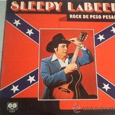 Discos de vinilo: LP. DLEEPY LABEEF. ROCK DE PESO PESADO. AÑO 1980. Lote 10820815