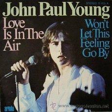 Disques de vinyle: DV0381.- JOHN PAUL YOUNG. ARIOLA 11705-A. Lote 26835505