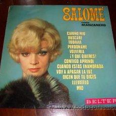 Discos de vinilo: SALOME. Lote 133808426