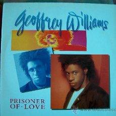 Disques de vinyle: LP - GEOFFREY WILLIAMS - PRISONER OF LOVE - EDICION ALEMANA, ATLANTIC RECORDS 1989. Lote 10850847