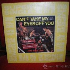 Discos de vinilo: BOYS TOWN GANG,CANT TAKE MY EYES OFF YOU,MAX-SINGLE (TRAIDA DEL EXTRANJERO). Lote 27250512