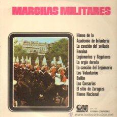 Discos de vinilo: MARCHAS MILITARES LP. Lote 10901914
