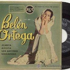 Discos de vinilo: EP 45 RPM / BELEN ORTEGA / JICARITA / EDITADO POR RCA. Lote 19443397