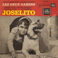 Discos de vinilo: JOSELITO EP SELLO RCA VICTOR EDITADO EN FRANCIA. Lote 10965782
