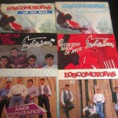Discos de vinilo: LOTE DE 6 SINGLES - LOCOMOTORAS. Lote 10985011