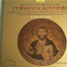 Discos de vinilo: CAJA 2 LP´S BEETHOVEN. MISSA SOLEMNIS. . Lote 10991493
