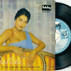 Discos de vinilo: DALIDA. LES GITANS.............. (VINILO-EP 1959). Lote 10994176