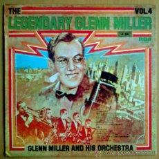 Discos de vinilo - GLENN MILLER Y SU ORQUESTA LP THE LEGENDARY GLENN MILLER OR 1976 ESP - 27541676