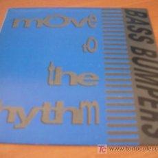 Discos de vinilo: BASS BUMPERS ( MOVE TO THE RHYTHM ) SINGLE ESPAÑA PROMO (EPI01). Lote 11030754