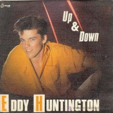 Discos de vinilo: UXV EDDY HUNTINGTON SINGLE VINILO MUSICA ITALO DISCO UP & DOWN 1987 MAX MUSIC. Lote 25743421