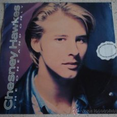 Discos de vinilo: CHESNEY HAWKES ( THE ONE AND ONLY - IT'S GONNA BE TOUGH ) 1991-LONDON SINGLE45 CHRYSALIS. Lote 11049372