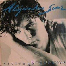Vinyl-Schallplatten - ALEJANDRO SANZ, LP VINILO VIVIENDO DEPRISA - 24072306
