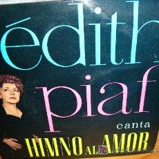 Discos de vinilo: EDITH PIAF E.P.. Lote 27004421