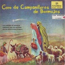 Discos de vinilo: CORO DE CAMPANILLEROS DE BORMUJOS. COLUMBIA, 1958. Lote 24720658