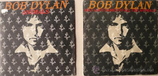 Discos de vinilo: BOB DYLAN / ANIMALS / MAN GAVE NAME TO ALL THE ANIMALS - Foto 1 - 35782773