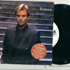 Discos de vinilo: STING. RUSSIANS (VINILO DOBLE-SINGLE-1986). Lote 11086639