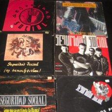 Discos de vinilo: LOTE DE 6 SINGLES SEGURIDAD SOCIAL . Lote 11087299