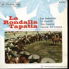 Discos de vinilo: LA RONDALLA TAPATIA - LAS MAÑANITAS / LA RONDALLA / OJOS TAPATIOS / CANCIÓN DEL CORAZÓN - EP 1968. Lote 11111626