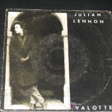 Discos de vinilo: JULIAN LENNON - VALOTTE. Lote 11115150