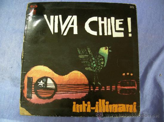 LP DE VIVA CHILE ! DE INTI-ILLIMANI 1977 (Música - Discos - Singles Vinilo - Étnicas y Músicas del Mundo)