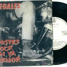 Discos de vinilo: ILEGALES. CHISTES ROCK EN YA MENOR (VINILO -SINGLE-1990). Lote 11114328
