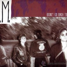 Discos de vinilo: R.E.M. REM. MAXI EP 12 A 45 RPM. (DON´T GO BACK TO) ROCKVILLE + 3. COPIA ESPAÑOLA. EPIC 1984. Lote 26761001