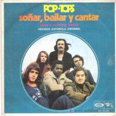 Discos de vinilo: POP- TOPS *** SOÑAR , BAILAR Y CANTAR / ANY TIME *** 1970 MOVIE PLAY. Lote 12029371