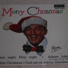 Dischi in vinile: BING CROSBY 'MERRY CHRISTMAS' (SILENT NIGHT, HOLY NIGHT - ADESTE FIDELES - WHITE CHRISTMAS -. Lote 11133634