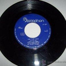 Discos de vinilo: ALEX Y LOS FINDES. Lote 27443535