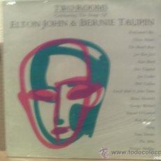 Discos de vinilo: ELTON JOHN - BERNIE TAUPIN ---- TWO ROOMS. Lote 26214097