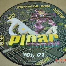 Discos de vinilo: DISCO LP PICTURE PINAR DISCOTECA ORIVI VS DR.BONE VINILO. Lote 22539055