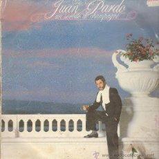 Discos de vinilo: UN SORBITO DE CHAMPAGNE JUAN PARDO LP. Lote 11181530