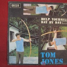 Discos de vinilo: TOM JONES - 45 RPM. Lote 11193441
