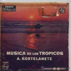 Discos de vinilo: A.KOSTELANETZ / LUNA DE MANAKOORA / CANCION KASHIMIRI / RUMBA DE JAMAICA / ANDALUCIA (EP58). Lote 11198591
