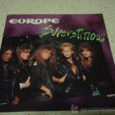 Discos de vinilo: EUROPE ( SUPERSTITIONS - LIGHTS & SHADOWS ) LONDON HOLANDA-1988 SINGLE45 EPIC. Lote 11200563
