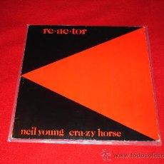 Discos de vinilo: NEIL YOUNG & CRAZY HORSE / RE-AC-TOR (1981) - LP CON ENCARTES ORIGINALES!!! MAGNÍFICO ESTADO!!! . Lote 27202584
