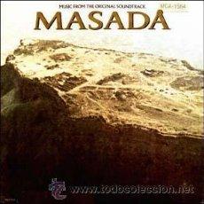 Discos de vinilo: MASADA LP ORIGINAL 1564 MCA BANDA SONORA ORIGINAL MUSICA JERRY GOLDSMITH 1981 USA MCA. Lote 22515937