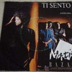 Dischi in vinile: MATIA BAZAR ( TI SENTO - ANGELINA ) 1988 SINGLE45 MEGA RECORDS. Lote 11250805