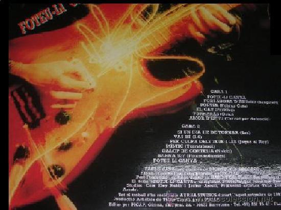 Discos de vinilo: FOTEU-LI CANYA * LP * NUEVO!!! LO MEJOR DE LA HORNADA INDIE-POP CATALANA * RARE - Foto 2 - 57648287