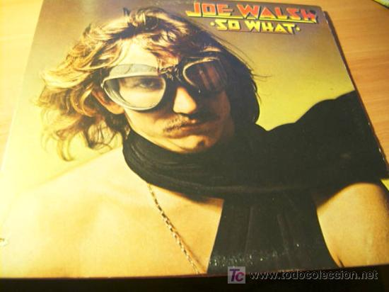 Joe walsh ( so what ) lp - Sold through Direct Sale - 11286098
