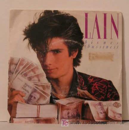 LAIN - BISNES (BUSSINES) - EL MALO (Música - Discos - Singles Vinilo - Otros estilos)